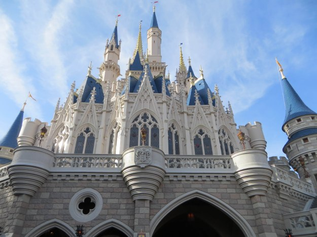 Do you remember the first time you saw the castle? Photo Credit: Julie K.