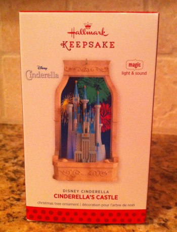 Cinderella's Castle Ornament
