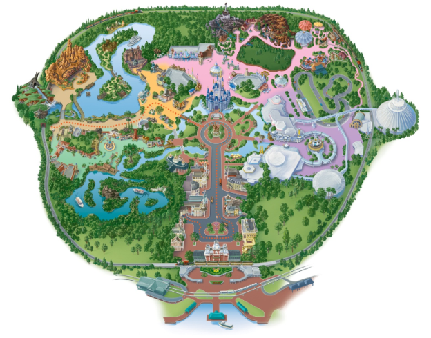 Plan your Disney Day with your free customized map. Source: Disney.go.com