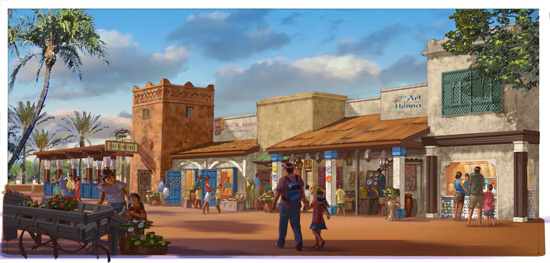 Source: Disney Parks Blog http://disneyparks.disney.go.com/blog/2013/11/spice-road-table-coming-to-morocco-pavilion-at-epcot/