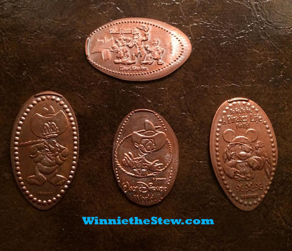 Make your own souvenir pressed pennies at walt disney for Create your own penny