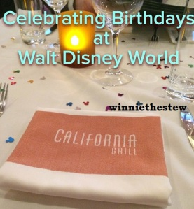Birthdays at Disney
